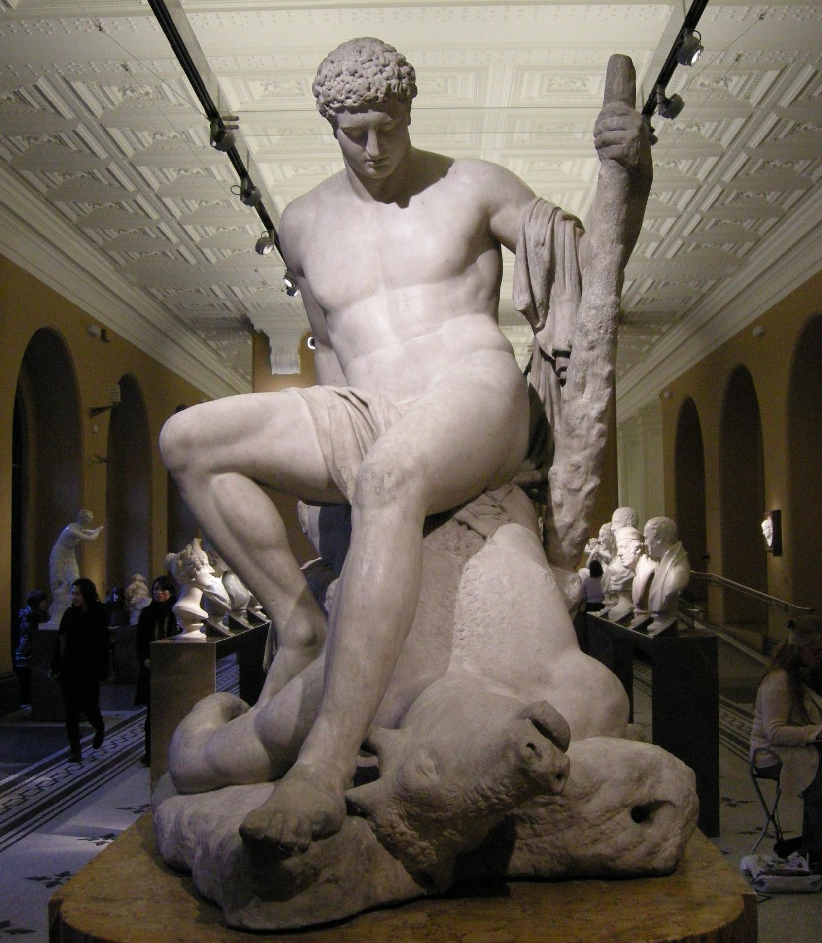 Teseo e il Minotauro, Canova