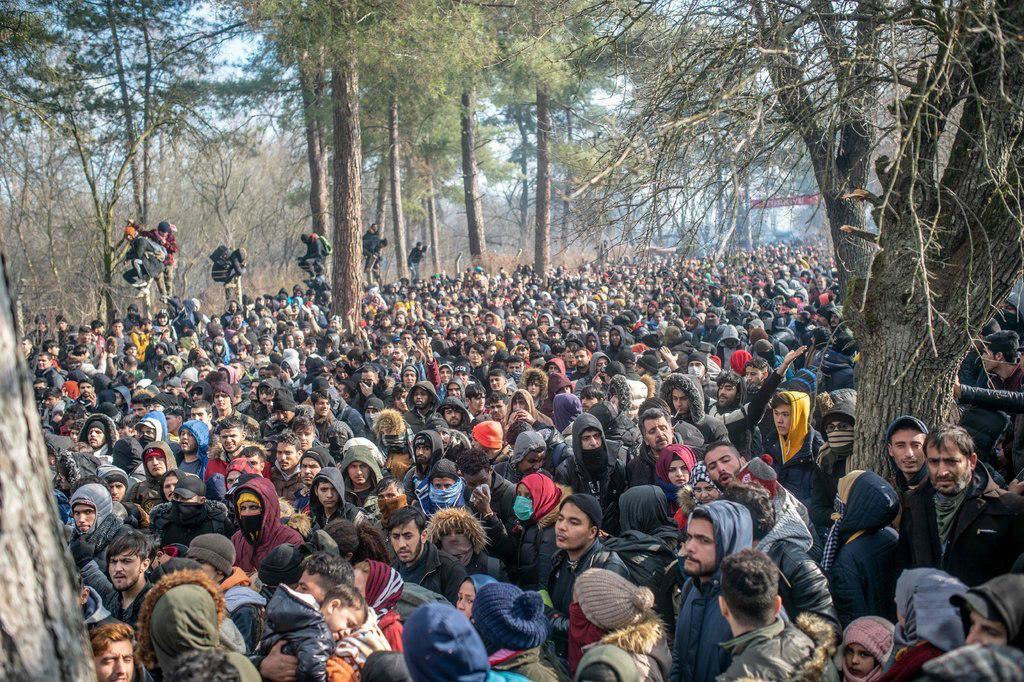 Migranti sul confine Turco-greco