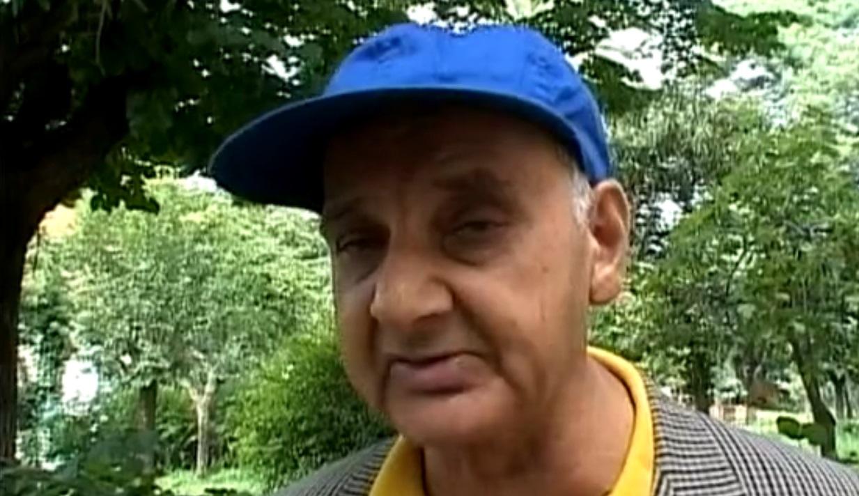 Alberto, ex degente dell'ospedale psichiatrico di Santa Maria della Pietà