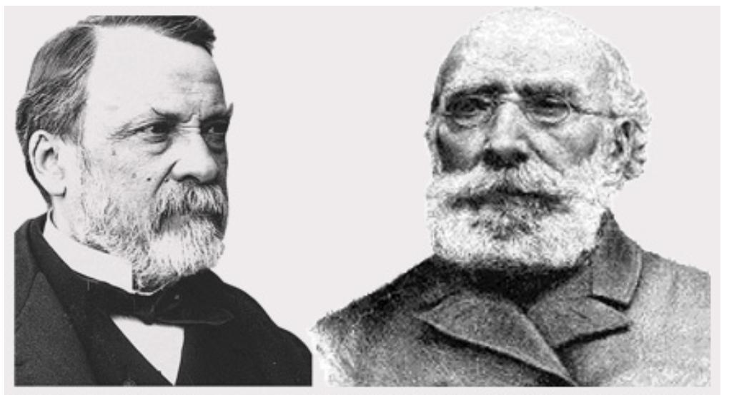 Louis Pasteur e Antoine Bechamp