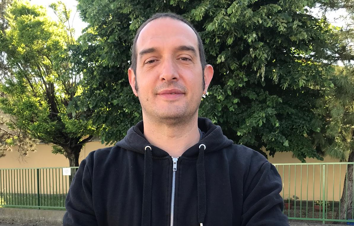 Il regista Raoul Garzia