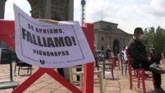 Presidio ristoratori a Milano