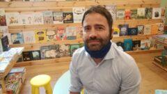 Vittorio Graziani, titolare della libreria Centofiori insieme a Fabio Masi