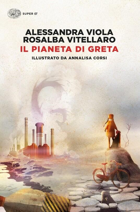 Il pianeta di Greta - copertina del libro